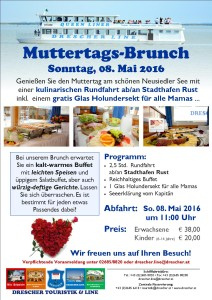 Muttertagsbrunch 08. Mai 2016