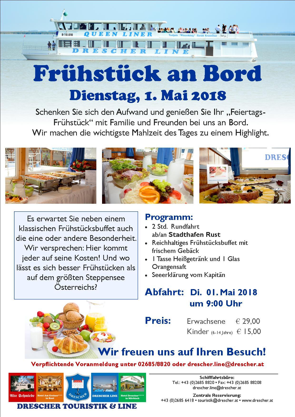 Frühstück An Bord 1 Mai 2018jpg